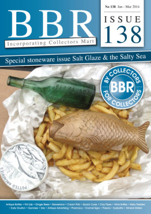 The bumper packed 138 edition - plenty of salt glaze, Anchovy feature - with pot lids galore, Poison news - & more