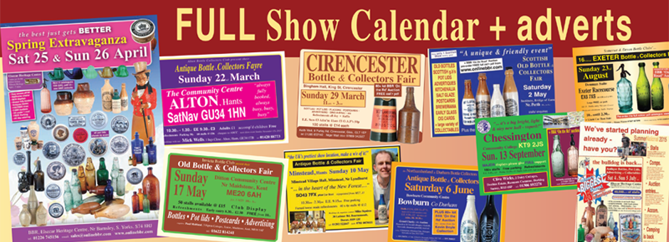 UK show calendar including BBR Auction dates