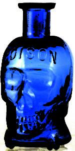 Coffin skull poison