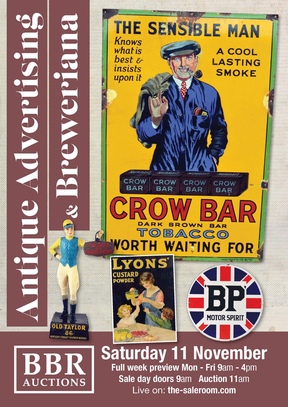 Antique Advertising & Breweriana Auction Catalogue